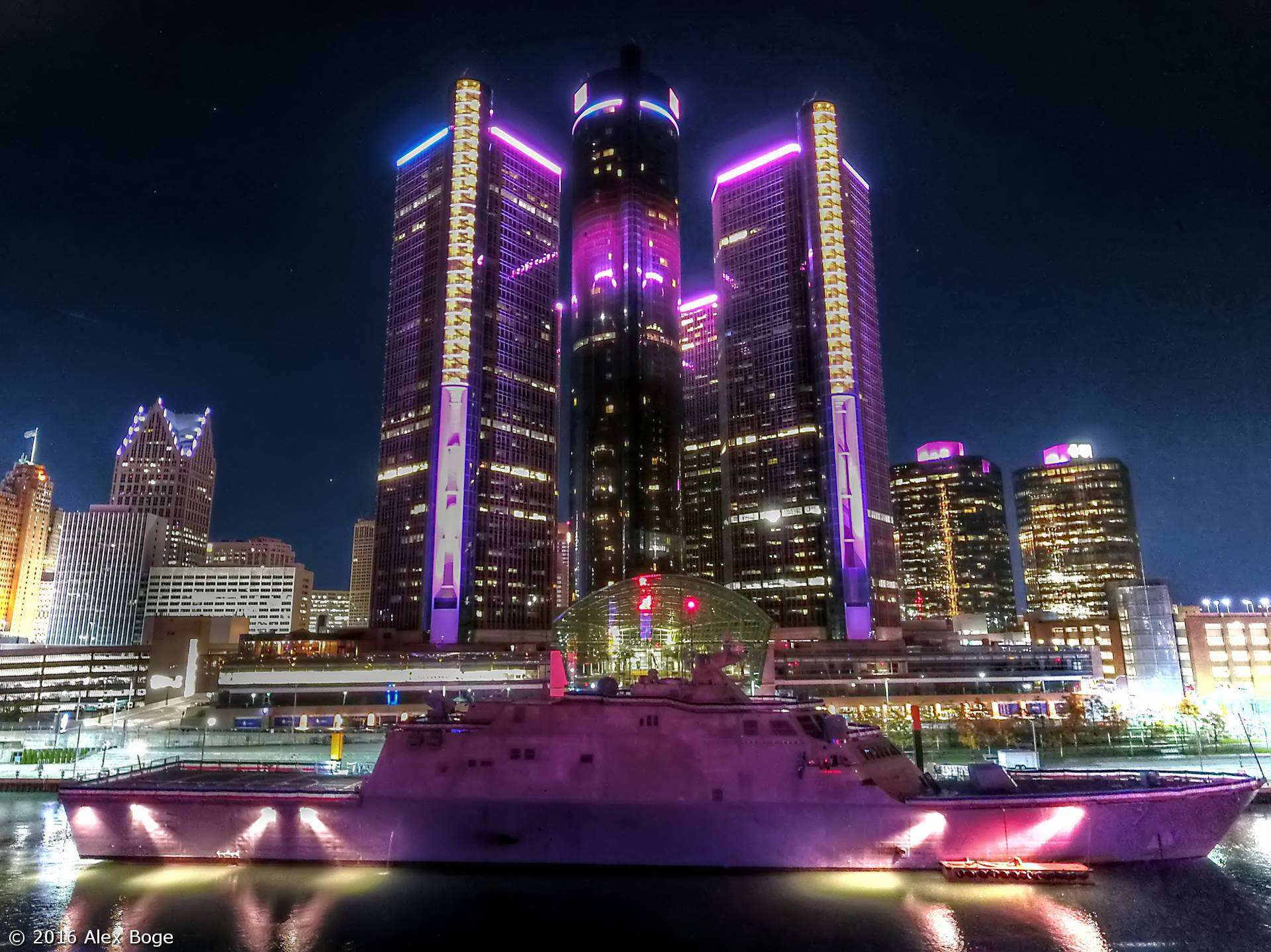 uss-detroit-downtown-detroit