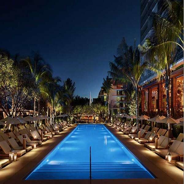 The Miami Beach EDITION at Dusk